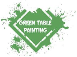 Green Table Painting